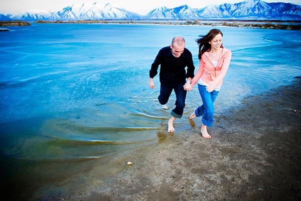Utah Lake Winter Example