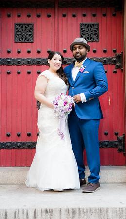Steph and Sylvester wedding