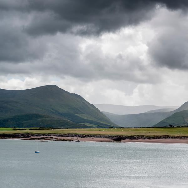 Clouds over Atlantic Ocean, Goulane Ard, Brandon, County Kerry, Ireland