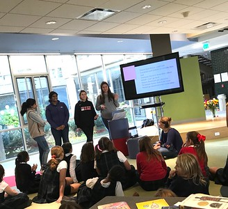 Seniors Discuss Environmental Justice with Fourth Grade