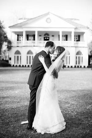 Jenna + Joseph Wedding - Black+White