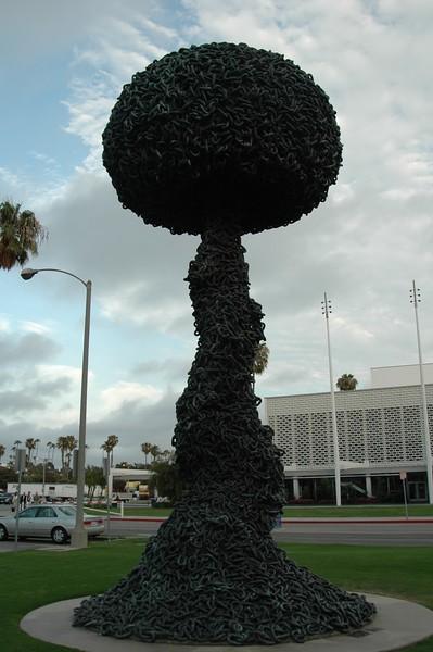 Memorial in Santa Monica