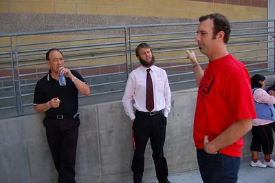 March Against Teacher Layoffs 4.28.09
