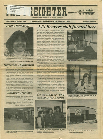 Freighter Newspaper 1985 July31