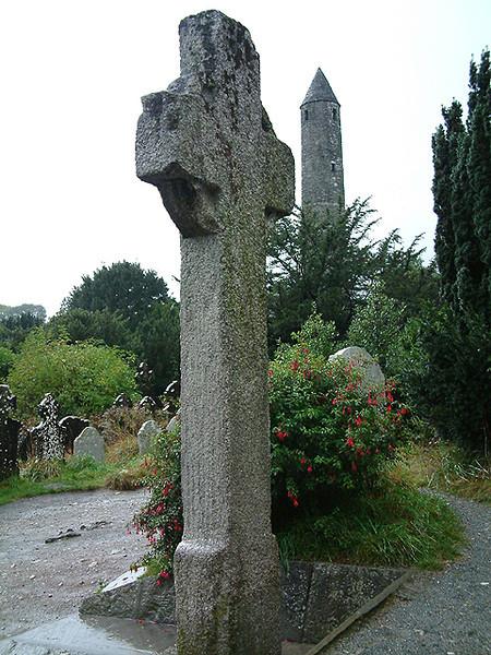 Glendalough - Celtic Cross of Ste-Catherine 1