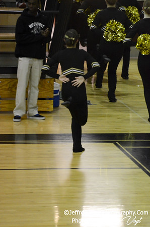 01-05-2013 Poolesville HS Poms at Northwest HS Competition, Photos by Jeffrey Vogt Photography