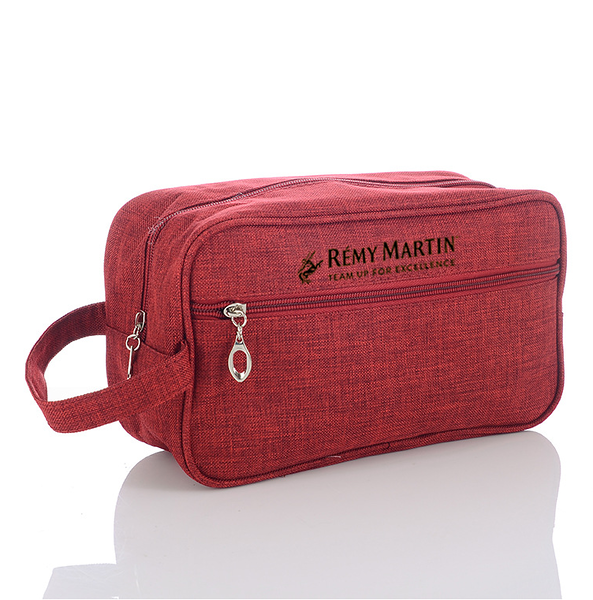 500- Red Travel Bag with Black Logo