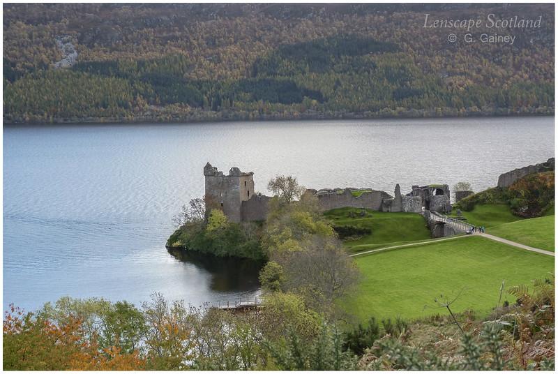 Urquhart Castle, Drumnadrochit, Loch Ness (1)