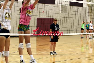 JCC Volleyball Practice Begins 2013
