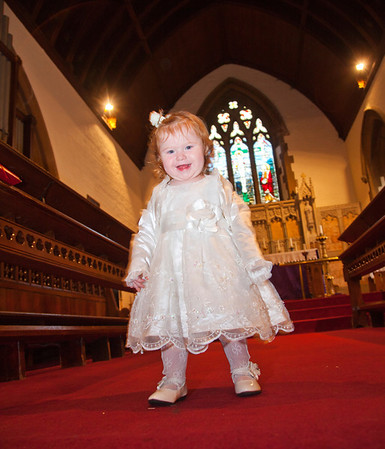 Emma & Marks Daughters Christening