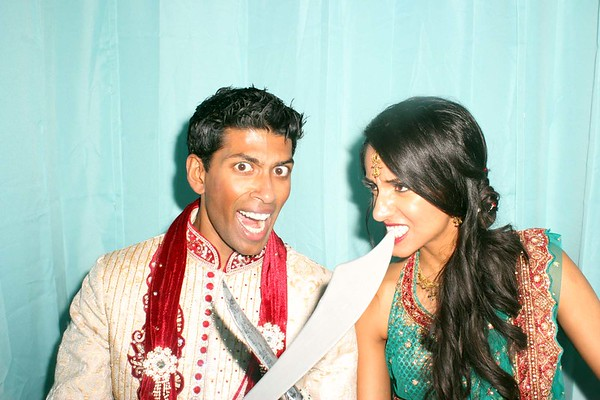 Preet and Jervin's Wedding Photobooth