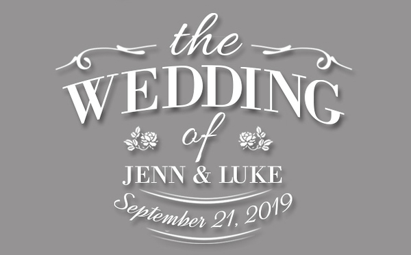 Wedding of Jenn & Luke (Prints)