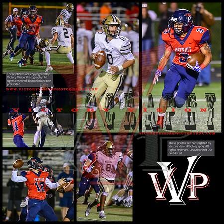 Westfield @ Patriot Varsity Boys Football 9-28-18