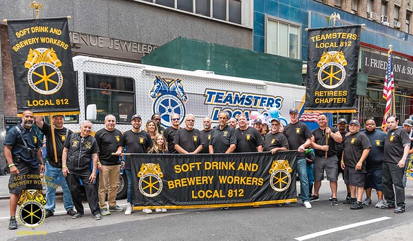 Teamsters Local 812 Labor day Parade