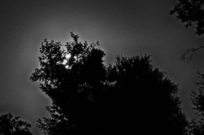 Black Star Canyon Full Moon