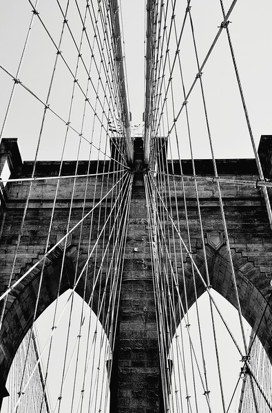 Brooklyn Bridge by Beata Obrzut