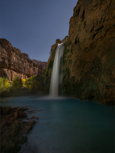 Havasu Falls by Night