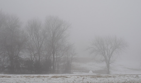 Foggy Day in Shawnee Mission Park