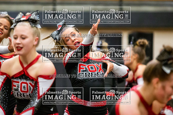 Fox Creek Varsity Cheer 3A Qualifers