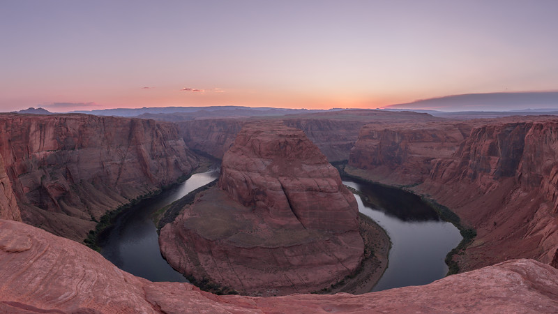 The Famous Horseshoe Bend