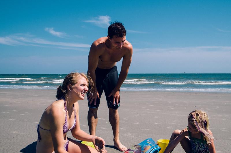 Matt with Annie and Rachel