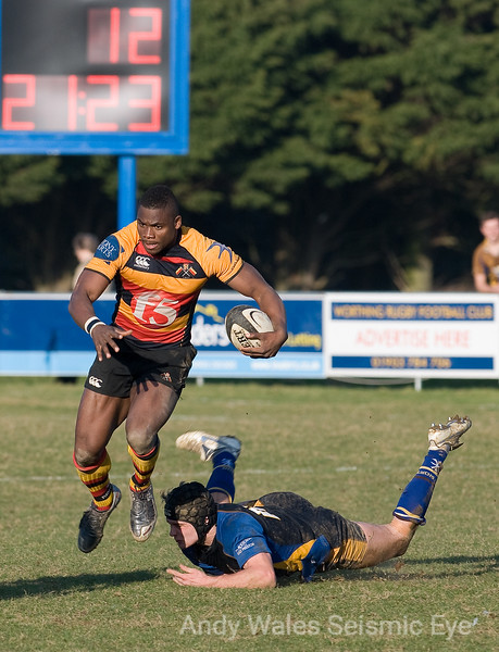 Worthing Raiders v Canterbury Feb 2009