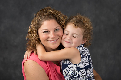 081817 Photo Shoot with Julie and her little on