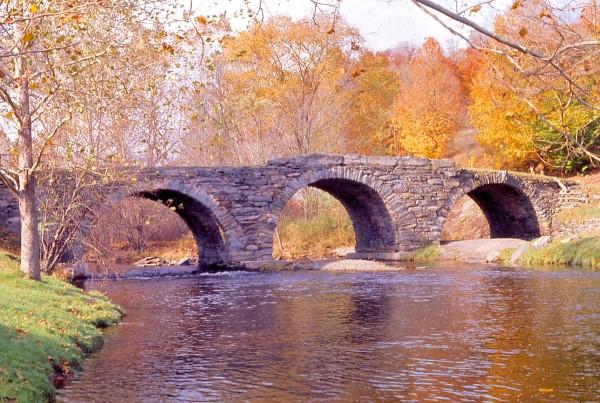 Stone Arch Bridge, Jeffersonville NY  1977