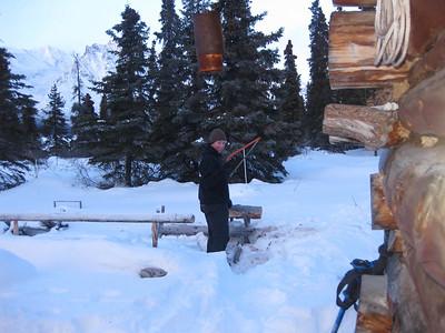 Twin Lakes Alaska - Winter 2011