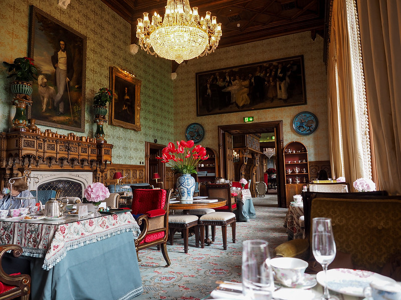 Afternoon Tea in the Connaught Room at Ashford Castle