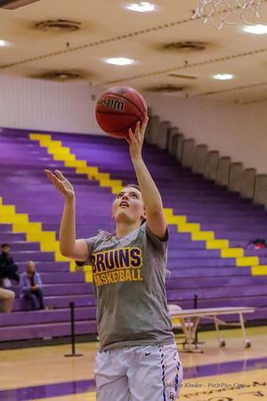 Girls Varsity Basketball v West Potomac 12/5/17