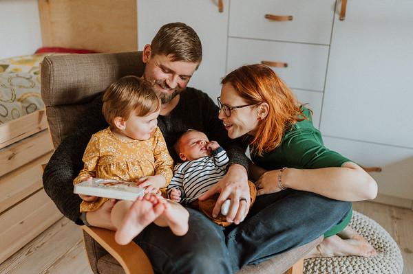 Stepanek s rodinou :: lifestyle newborn