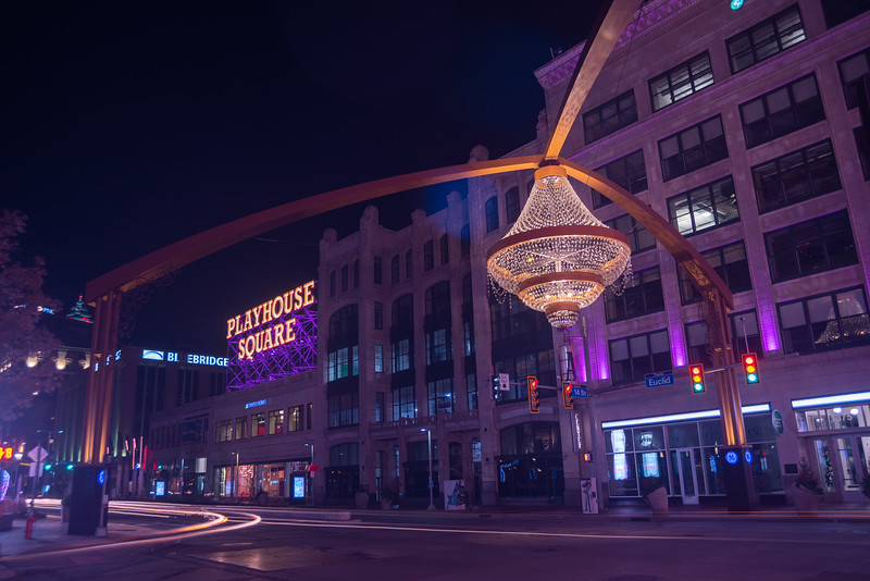 Playhouse Square and the Chandelier