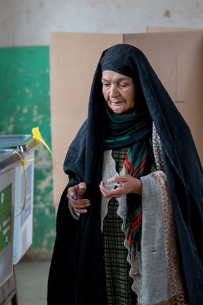 Afghanistan 2014 Presidential Elections Round 1