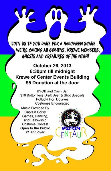 2013 - 10-26 Krewe Of Centaur Halloween Party