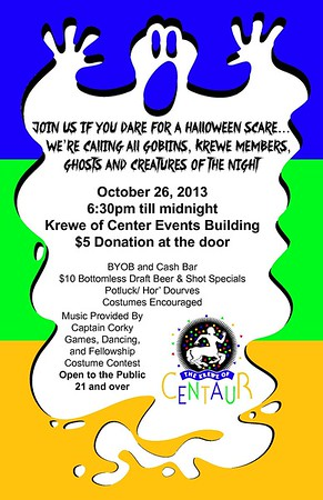2013 - 10-26 Krewe Of Centaur Halloween Party