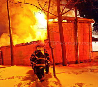Structure Fire - City of Poughkeepsie Fire Department - 90 Hudson Avenue - 1/23/11