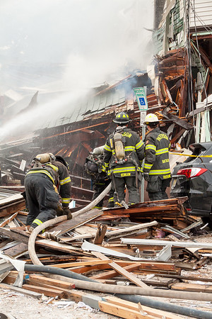 Paterson NJ 2nd alarm explosion, 16 Goshen St. 10-04-16