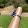 Vintage-Inspired and Contemporary 3.03ct Blue Sapphire Ring (GIA, No-Heat)) 25