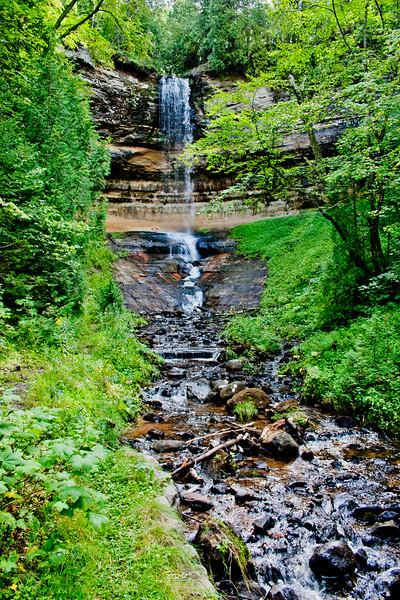 Falls in Michigan
