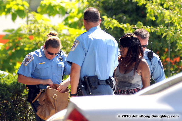6/18/2010 Arrest on Great Mills Rd