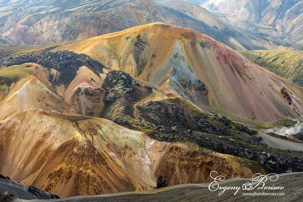 Mountains texture