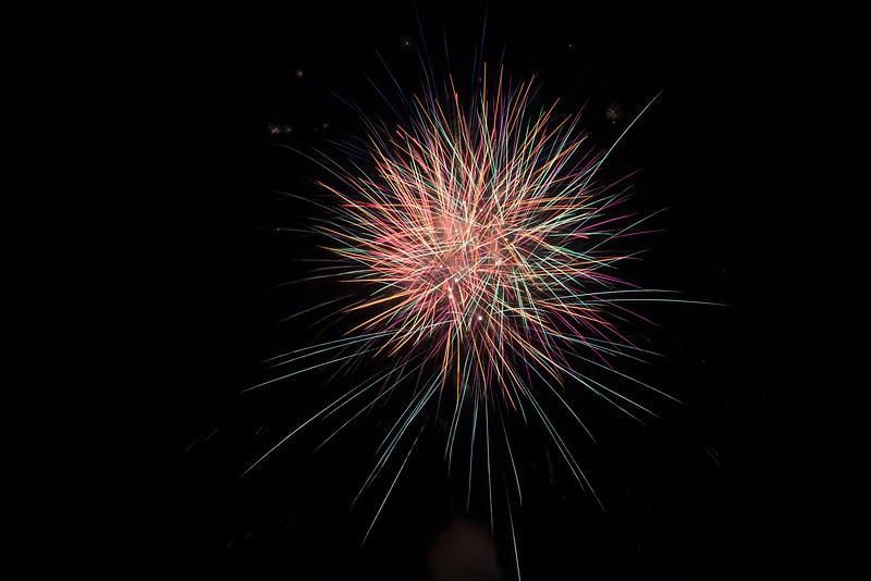 Penn College Starfire Fireworks Shoot