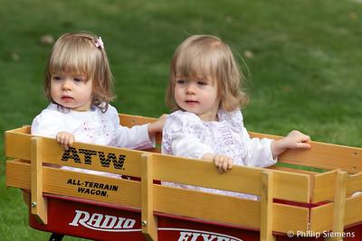 Twins 2nd birthday