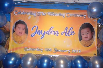Jayden Ale Weaning Party Aldershot 12/1/2019