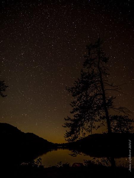 Stars over the Carmichael Viewpoint (Killarney)