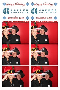 Copper Mt. Holiday Employee Party 12/20/18