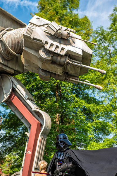 AT-AT Darth Vader Disney World Hollywood Studios.jpg