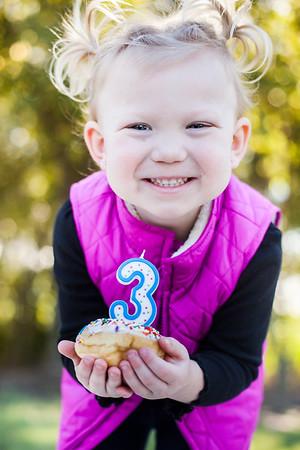 Addie - Three Years Old