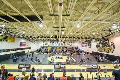 Wrestling: Potomac Dist Championships 2.2.2019 by Art Pittman